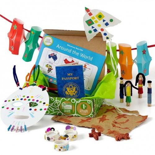 Around the World Creativity Box