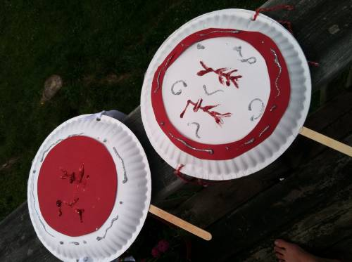 how to make a chinese war drum