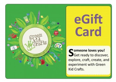 Green Kid Crafts Gift Card
