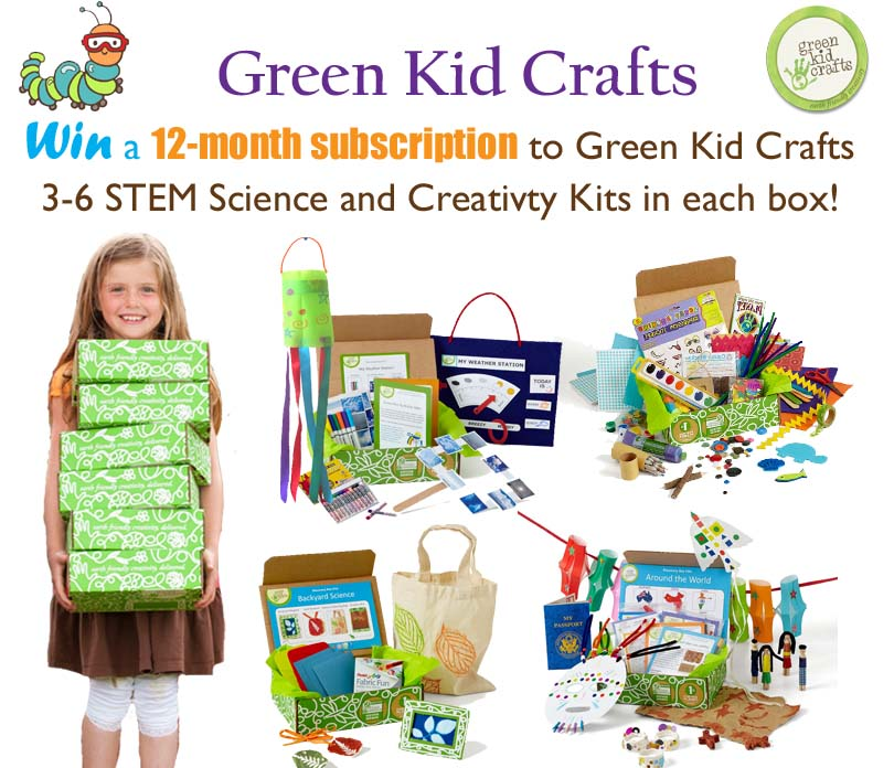green kids crafts green kid crafts 12 month subscription giveaway monthly 2116