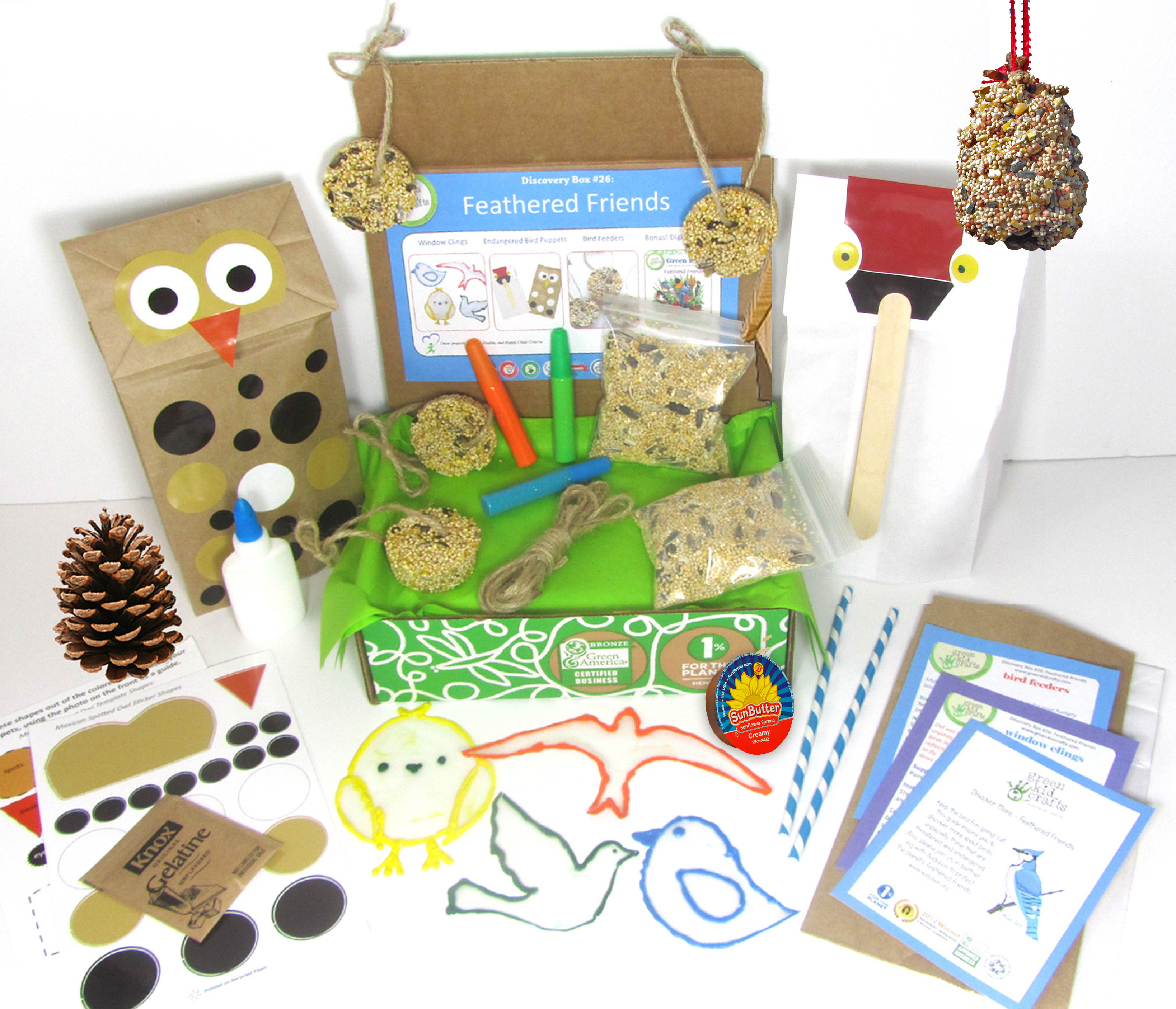 Kids Craft Series: 3 alimentadores de aves fáciles de hacer | Blog de FabKids - BFF de la mamá