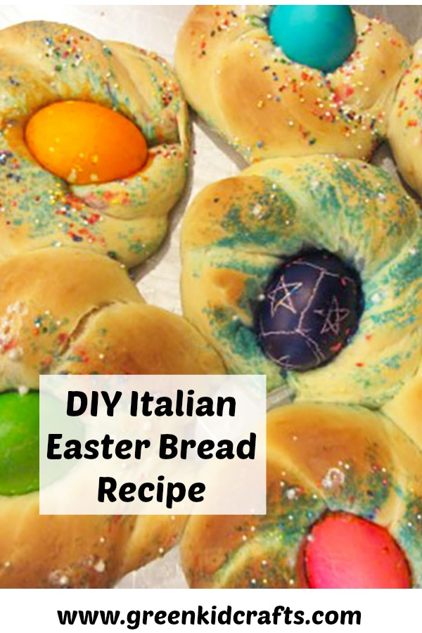 Italian Easter Bread Recipe. DIY Italian Easter Bread.