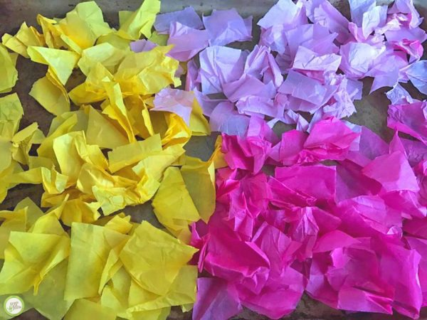 Tissue paper flowers spring craft for kids monthly science and art flower craft mightylinksfo