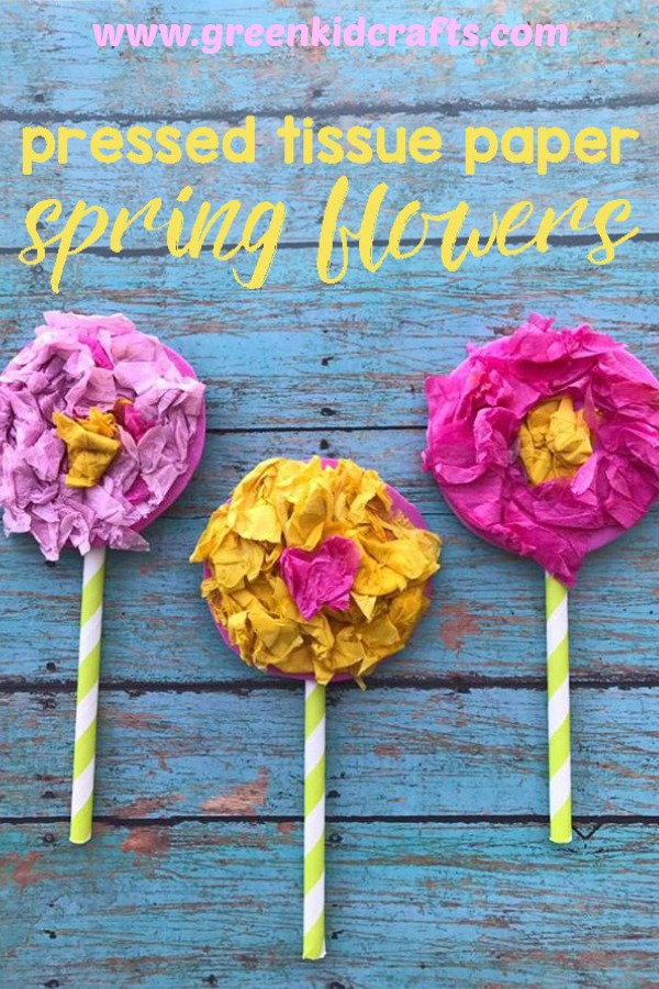 Tissue paper flowers spring craft for kids green kid crafts spring craft for kids tissue paper flower craft for kids celebrate spring with a mightylinksfo Gallery