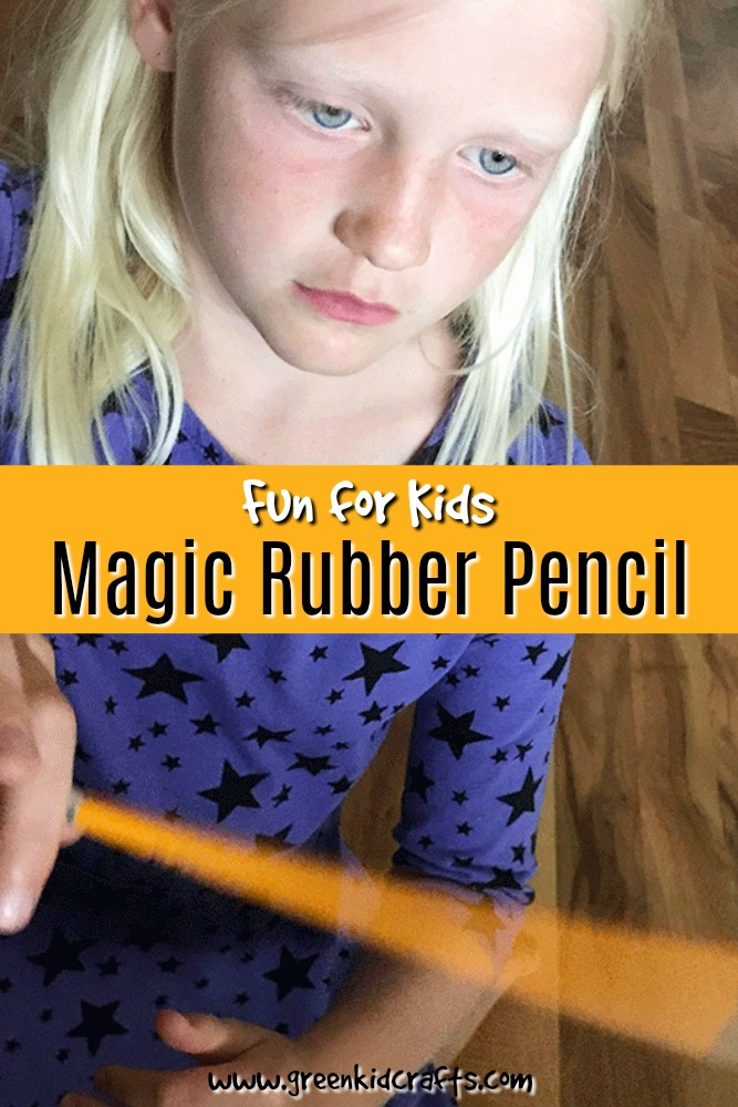 Create the illusion that you've turned a regular pencil into a rubber pencil with just your hand! Cute magic trick for kids.