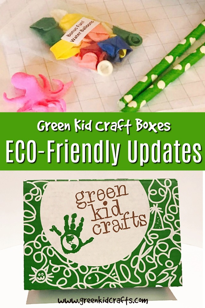 Eco-friendly subscription boc for kids. Green Kid Crafts has added exciting new updates to their boxes.
